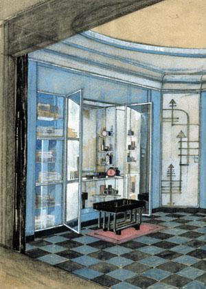 Kem Weber - Macy's Department Store, Bathroom Vanity