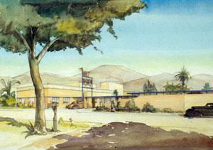 Kem Weber - Walt Disney Studios Gate