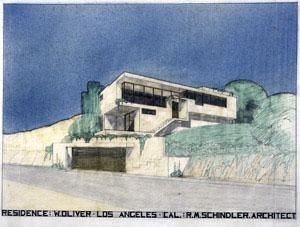 Rudolph Michael Schindler - Oliver Residence, Los Angeles