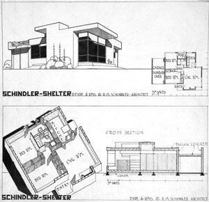 Rudolph Michael Schindler - Schindler Shelter, Los Angeles
