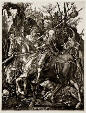 Albrect Dürer - Knight, Death, and the Devil