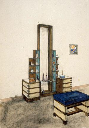 Kem Weber - Dressing Table for Barker Brothers