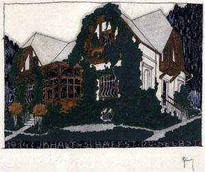 Rudolph Michael Schindler - Summer Residence near Vienna Austria