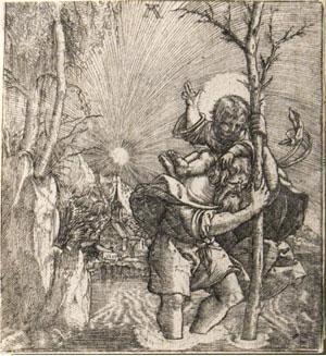 Albrect Altdorfer - St. Christopher