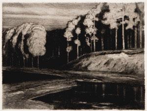 Walter Leistikov - Waldsee (Forest Lake)